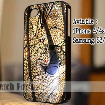 Nike Basketball Glitter Sparkle Cracked Out Design for iPhone 4/4s/5, Samsung Galaxy S3/S4 Case