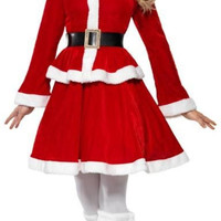 Lady Santa Christmas Costume