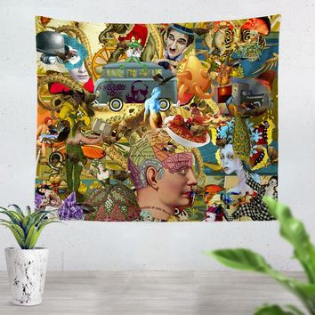 Picture Of Good Health Tapestry