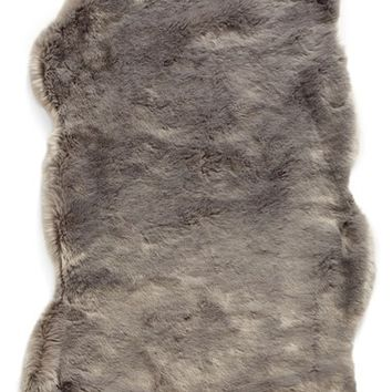 Nordstrom at Home Cuddle Up Faux Fur Rug | Nordstrom