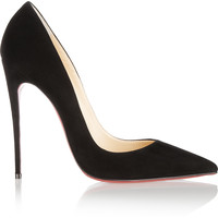 Christian Louboutin - So Kate 120 suede pumps