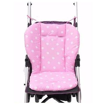 Thick Baby Infant Stroller Seat Pram Cushion Chair BB Car Umbrella Cart Seat Dot Cotton Mat Stroller Mat For Kids