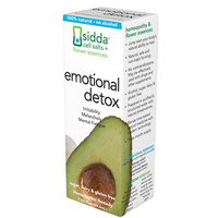 Sidda Flower Essences Emotional Detox - 1 Fl Oz