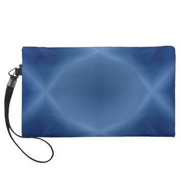 Blues Wristlet Purse