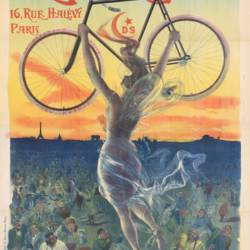 Bicycle Ad Deeesse 16 Rue Halevy Paris