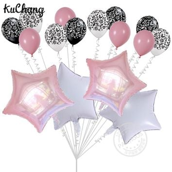16pcs/lot 18inch bunch of balloons