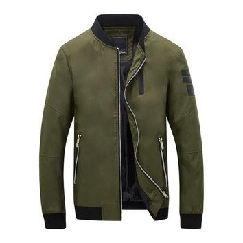 The Cadet Bomber Jacket Olive