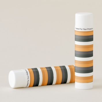 Stripe Orange Lip Balm