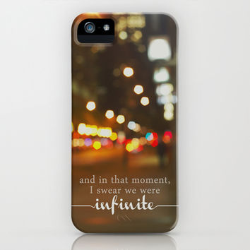 perks of being a wallflower - we were infinite iPhone & iPod Case by Lissalaine