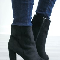 Under My Spell Booties - Black