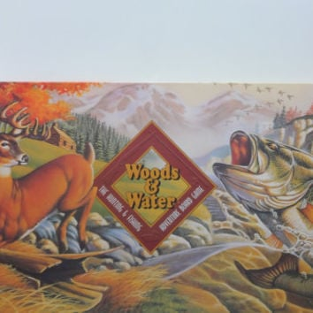 Vintage Woods & Water Adventure Board Game 1995