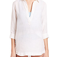 Orlebar Brown - Rita Lightweight Linen Coverup - Saks Fifth Avenue Mobile