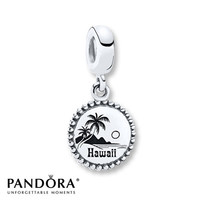 Pandora Dangle Charm Hawaii Sterling Silver