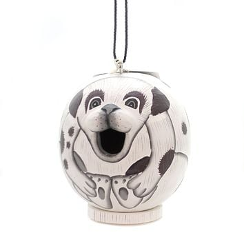 Home & Garden MUTT GORD-O BIRDHOUSE Wood Albesia Wood Hand Painted Se3880071