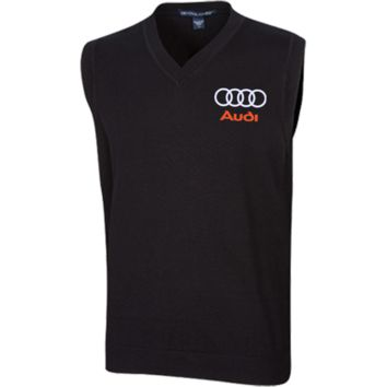 Audi Unisex Embroidered V-Neck Vest