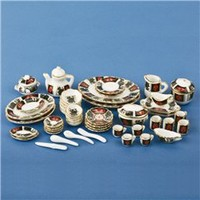"Complete ""Shanghai"" Table Setting @ miniatures.com"