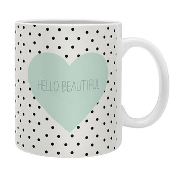 Allyson Johnson Hello Beautiful Heart Coffee Mug