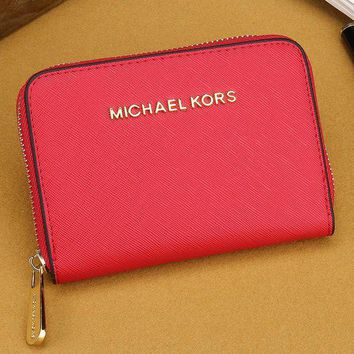 DCCKJ3V MK Women Leather Zipper Wallet Purse-20