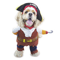 NACOCO Pet Dog Costume Pirates of the Caribbean Style (Large)