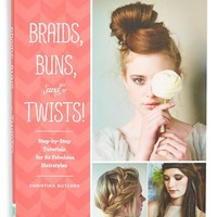 Junior Women's 'Braids, Buns, and Twist' Tutorial Book
