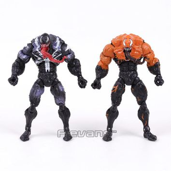 Genuine Original Venom from Spider Man PVC Action Figure Collectible Model Toy 7inch 18cm 2 Styles