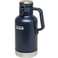 Stanley Classic 64oz. Vacuum Growler Thermos-Hammertone Navy