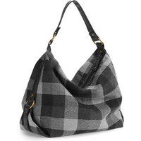 Walmart.com: Women's Plaid Hobo Handbag: Bags