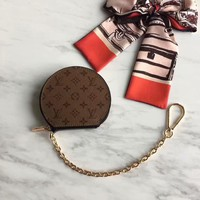 HCXX 19June 546 Louis Vuitton LV MICRO BOTE CHAPEAUM63597 Wallet and Key Ring