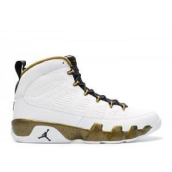 Beauty Ticks Nike Air Jordan 9 Retro Statue Basketball Sport Shoes