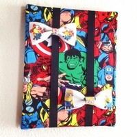 Avengers Bow tie holder from Bowlicious Divas Bowtique