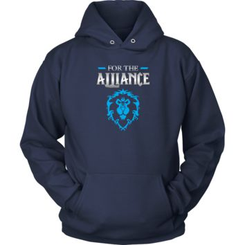 """World of Warcraft """"For the Alliance"""" Hoodie"""