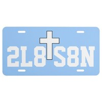 2L8 S8N Inspirational Car License Plate