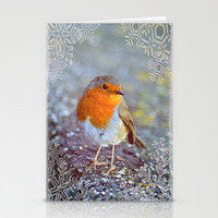 Robin Christmas Stationery Cards by  Alexia Miles photography