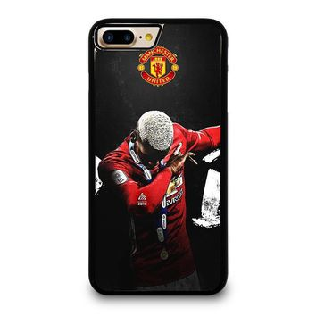 manchester united paul pogba dab iphone 4 4s 5 5s se 5c 6 6s 7 8 plus x case  number 1