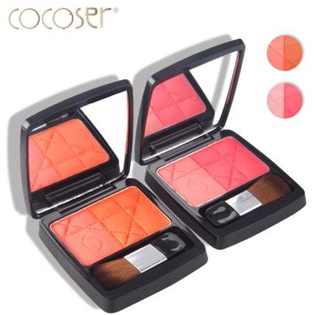 Cocoser palette blush  Baked Cheek Blush bronzer make up Sweet Cheek Blush Palette Professional Makeup Product