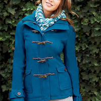Emma Hooded Toggle Coat
