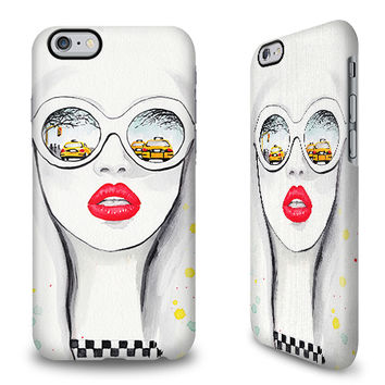 Winter in NYC - Anna Hammer | iPhone 6 Plus Case | caseable