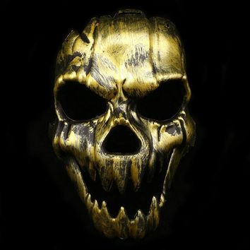 Scary Ghost Skull Skeleton Mask Antique Fangs skull mask Halloween Cosplay Creative Party