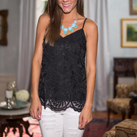 The Laurel Tank, Black