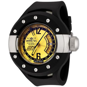 Invicta Men's 6845 S1 Collection Rally GMT Black Rubber Watch