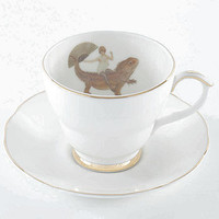 Fun Ride Tea Cup And Saucer