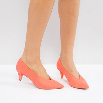 ASOS STRIKE Mid Heels at asos.com