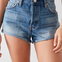 Levi's 501 High-Rise Short – Indigo | Urban Outfitters
