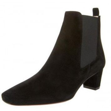 Christian Louboutin Cube Heel Ankle Boot