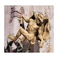 SheilaShrubs.com: Gaston, The Climbing Gothic Gargoyle Statue - Large NG32115 by Design Toscano: Garden Sculptures & Statues