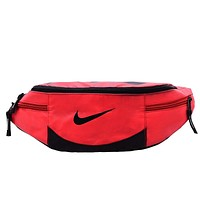 NIKE canvas Waist Bag Multi Pocket Shoulder Bag Crossbody Bag H-A30-XBSJ
