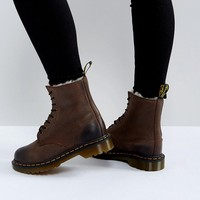 Dr Martens Serena 8 Eye Boots at asos.com
