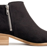 Low-heeled Boots - from H&M