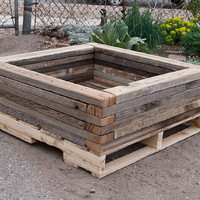 Custom Planters made from Reclaimed Materials  by CustomByRushton