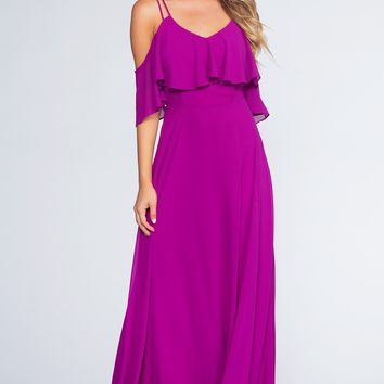 Mythical Romance Maxi Dress - Purple